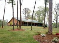 (46) 6x10 Original Log - The Bear Trace Golf Clubhouse