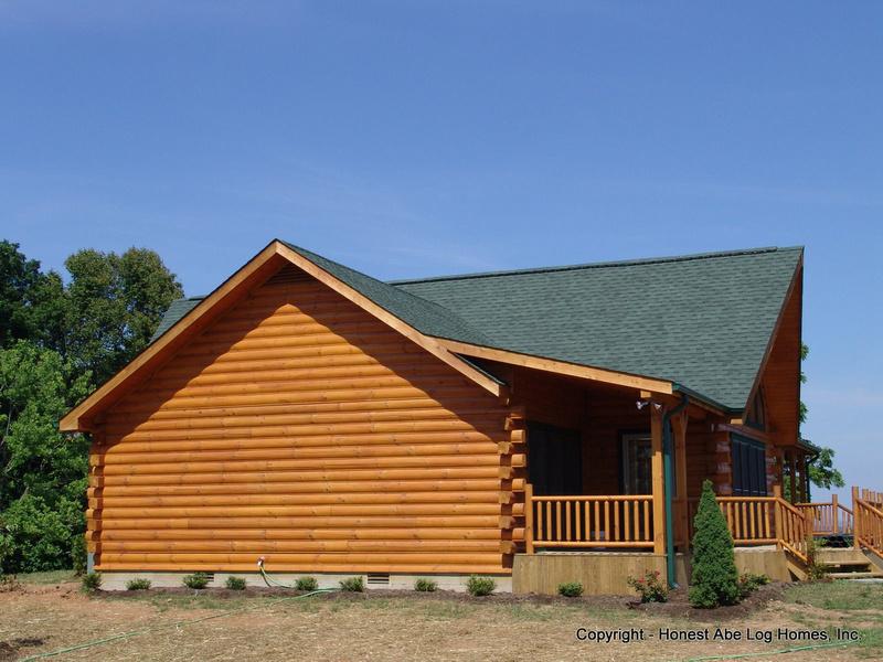 Zenfolio Honest Abe Log Homes 30 Swan Ridge Development